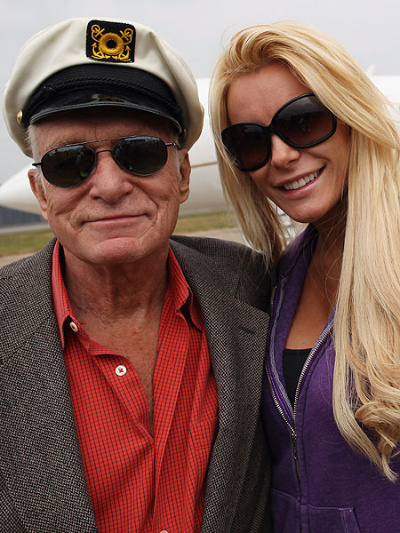 Hugh Hefner and Crystal Harris Are Getting Married for Real?
