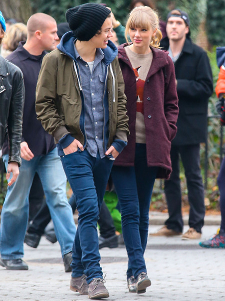 Pics! Taylor Swift and Harry Styles Spotted in Central Park