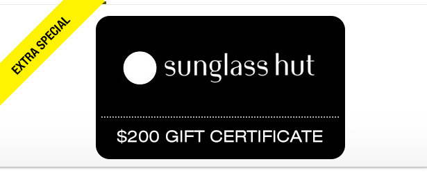Win It! A $200 Gift Certificate to Sunglass Hut