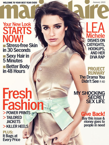 Lea Michele on Dating Cory Monteith: 'No One Knows Me Better'