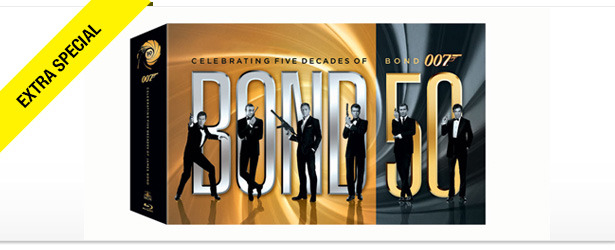 Win It! BOND 50 Blu-ray Collection