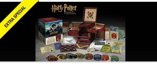 Win It! 'Harry Potter' Wizard's Blu-ray Collection