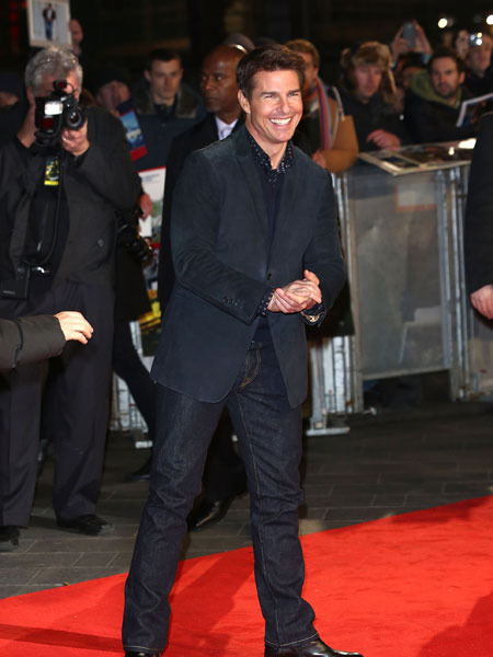 Tom Cruise in First Red Carpet Appearance Since Divorce