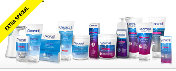 Win It! Clearasil Skin Care Products