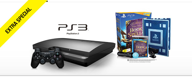 Win It! Sony PS3 and The Wonderbook: Book of Spells Bundle