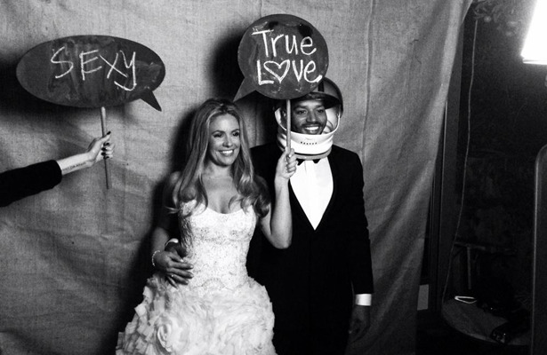 Pics! Jessica Simpsons BFF CaCee Cobb and Donald Faison Wed!
