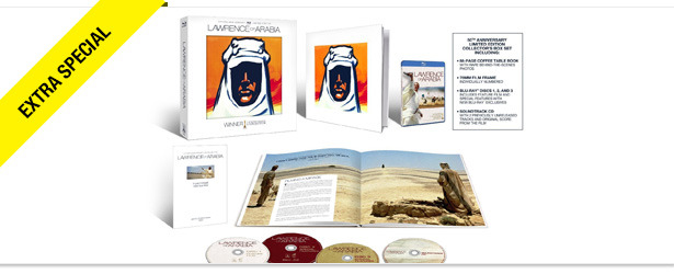 Win It! The Lawrence of Arabia 50th Anniversary Blu-ray Collection