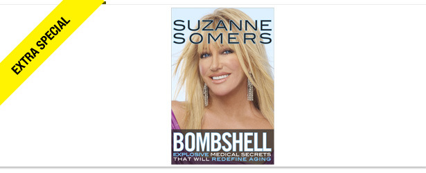 Win It! A Copy of Suzanne Somers' 'Bombshell'