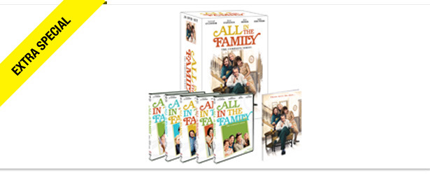 Win It! The Complete All in the Family DVD Set