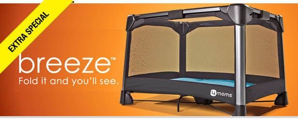Win It! A breeze Playard from 4Moms