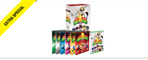 Win It! 'Mighty Morphin Power Rangers: The Complete First Series' on DVD