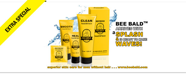Win It! A Bee Bald Man Care Products Daily Regimen Kit