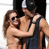 LeAnn Rimes and Eddie Cibrian New Year's PDA