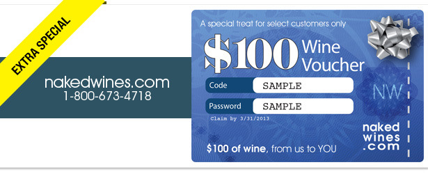 Win It! A $100 Gift Card to Nakedwines.com