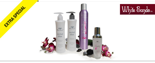 Win It! White Sands Hair Care Set