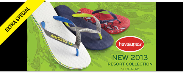 Win It! A Pair of Havaianas Sandals
