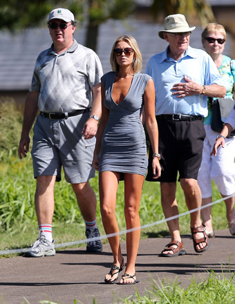 New Couple Alert: Paulina Gretzky Dating Golfer Dustin Johnson?