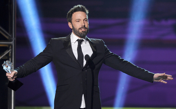 Ben Affleck 'Thanks Academy' for Critics' Choice Award