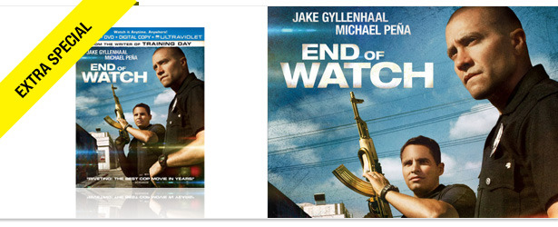 Win It! End of Watch on Blu-ray