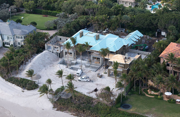 Elin Nordegren's $12-Mil Divorce Mansion Near Completion