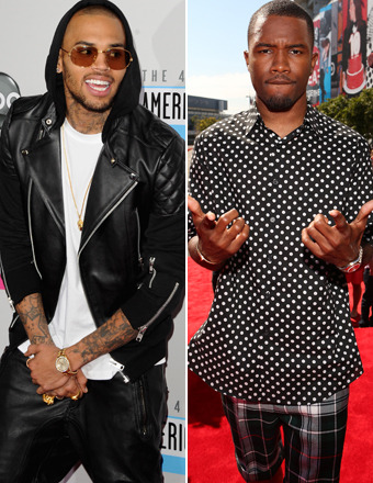 Chris Brown and Frank Ocean Brawl Outside Recording Studio