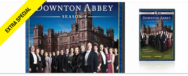 Win It! Downton Abbey: Season 3 on Blu-ray and DVD