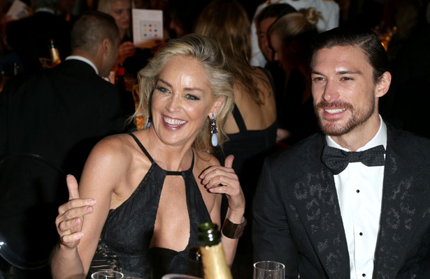 Hot Cougar Back on the Prowl? Sharon Stone Splits with Younger Man