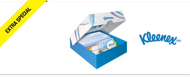 Win It! A Kleenex Care Pack