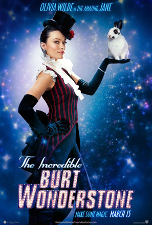 Pic! Olivia Wilde Works Magic in 'The Incredible Burt Wonderstone'