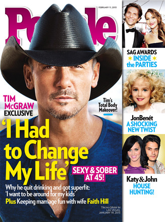 Sober Workout: Tim McGraw's Hot New Body