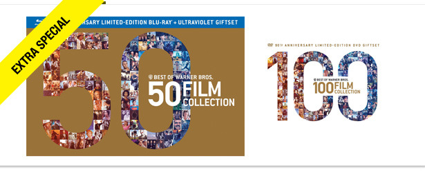 Win It! Warner Bros. 90th Anniversary Movie Collections