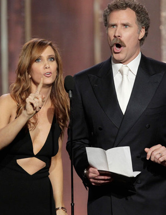 Kristen Wiig Joins the Anchorman Crew