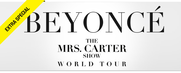 Win It! A Pair of Tickets to Beyoncé's World Tour in NYC