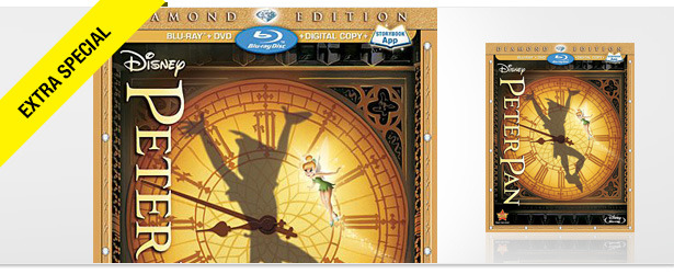  Win It! Disneys Peter Pan Diamond Edition on Blu-ray