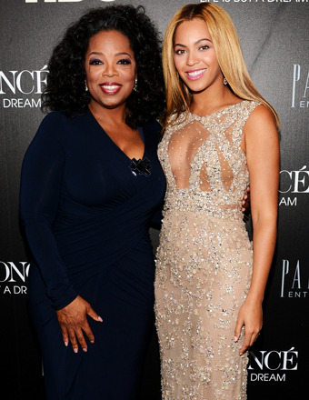 Oprah Joins Beyonc at Mega-Documentary Premiere