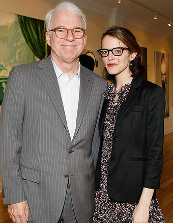 Baby News Report: Steve Martin is a Dad?