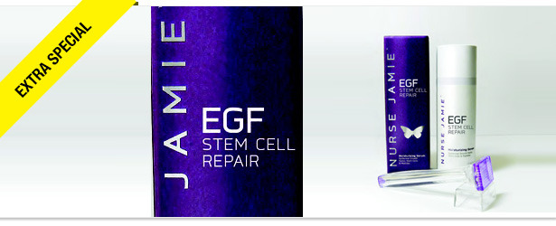 Win It! EGF Stem Cell Repair Serum and Beauty Stamp from Nurse Jamie