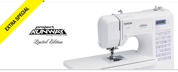 Win It! A Brother 'Project Runway' Limited Edition Sewing Machine