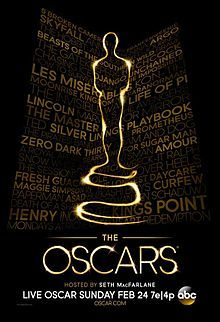 2013 Academy Award Winners List