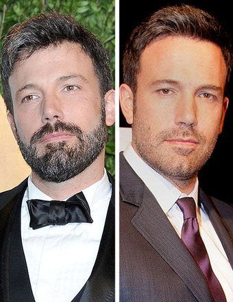 Ben Affleck Shaves His Beard… at an Oscars After-Party!