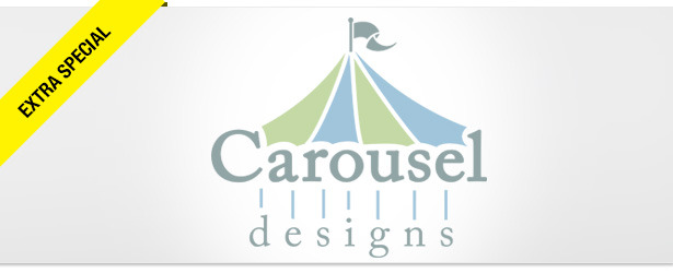 Win It! A Carousel Designs Baby Blanket