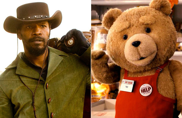 &#039;Django Unchained,&#039; &#039;Ted&#039; Lead 2013 MTV Movie Awards Nominations