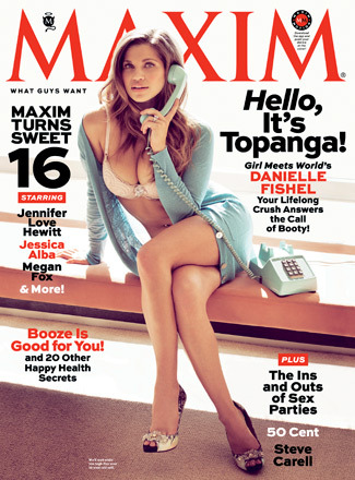 Pics! 'Boy Meets World' Star Danielle Fishel Strips Down for Maxim
