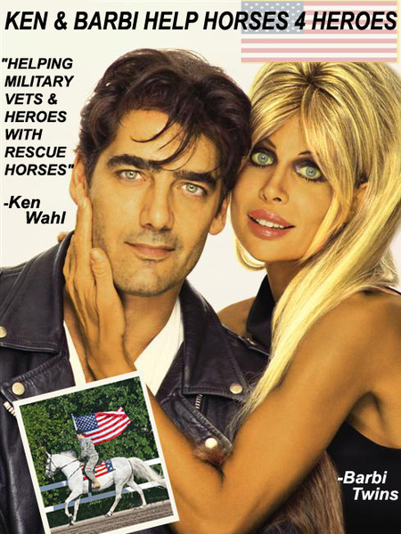 Ken & Barbi Want to Save the Horses