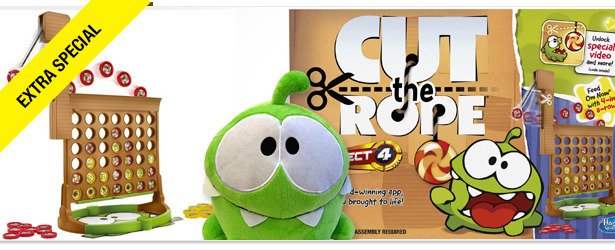Win It! A Cut the Rope Gift Basket