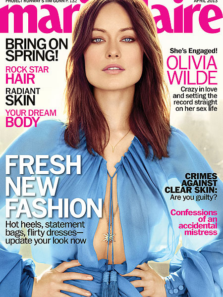 Olivia Wilde on Dating Jason Sudeikis: 'I Felt Like Fresh Meat at the Market'