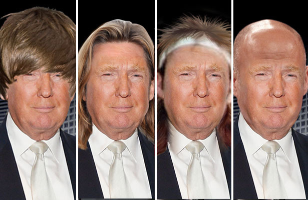 Vote! Which Trump Hairstyle is Your Favorite?