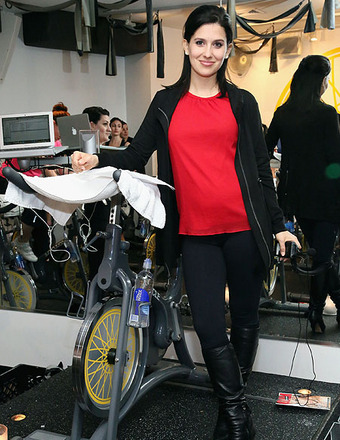 Hilaria Baldwin Hosts SoulCycle Ride to Launch New Magazine