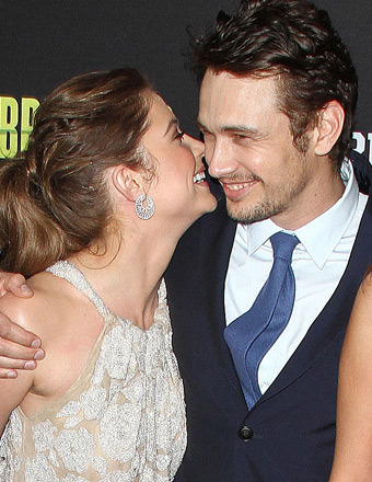 James Franco and Ashley Benson Get Flirty at &#039;Spring Breakers&#039; Premiere
