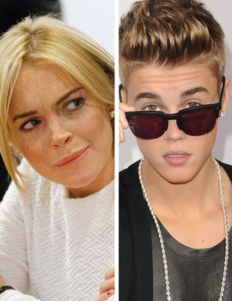 Lindsay Lohan Fires Back at Justin Bieber for Diss